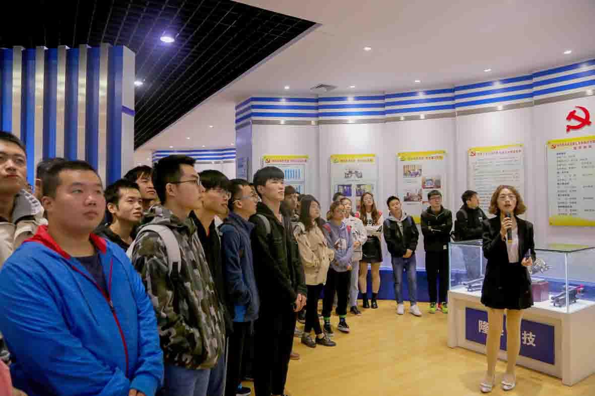 河南科技大学制冷与低温工程系学子赴隆华参观实习