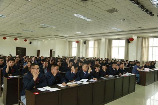 洛阳隆华传热节能公司党委及下属党支部换届选举顺利完成