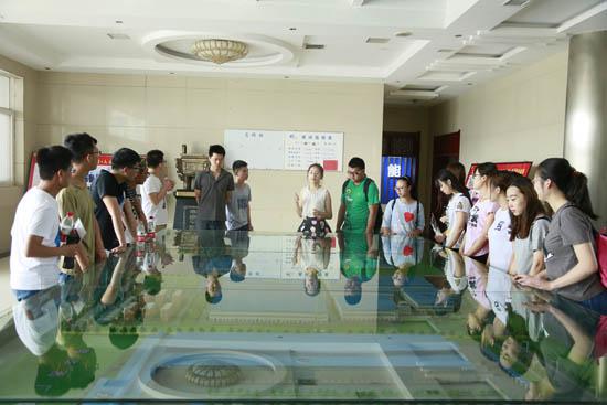 27名天商学生来乐虎国际娱乐app下载实习 为青春插上梦想翅膀